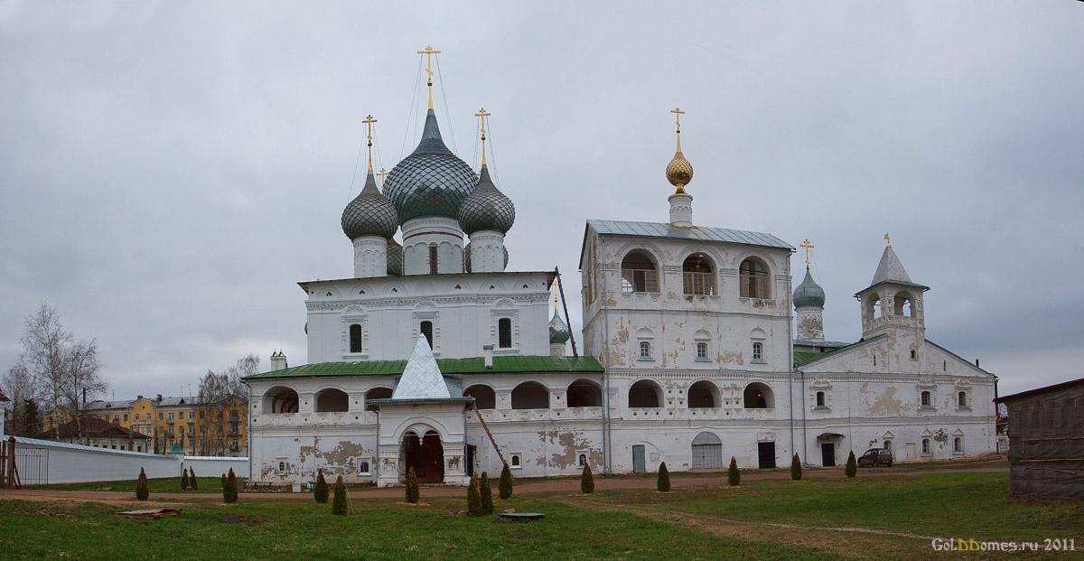 Углич воскресенский монастырь 1677 г